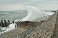 wave (janedoe.notts) Tags: sea shore coast water wave seas seaside seascape seaview splash