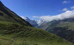 alpage de Barneuza, Val d'Anniviers (bulbocode909) Tags: valais suisse zinal mottec valdanniviers alpagedebarneuza montagnes nature paysages nuages vert bleu alpages