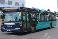 Arriva Derby Scania OmniCity 3556 (YR58 SRY) (Derby) (john-s-91) Tags: arriva arrivaderby scaniaomnicity 3556 yr58sry derby derbyroute20