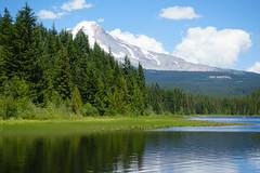trillium lake family hike (dolanh) Tags: hiking mthoodwilderness oregon mthood trilliumlake
