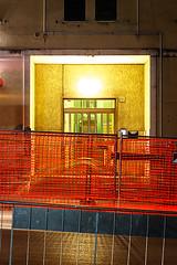 Centocelle di notte (schizoframing) Tags: centocelle notte street nightphotography longexposure fotografianotturna lungaesposizione lavoriincorso workinprogress cantiere astratto geometrico linee