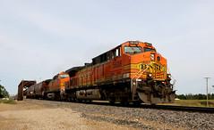 D91A9604 (Laurence's Pictures) Tags: bnsf bismarck north dakota burlington northern santa fe diesel locomotive coal train rail railway railroad ransportation freight