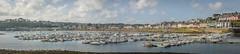Camaret Pano (stevefge) Tags: bretagne brittany camaret france coast panorama sea ocean harbour boats sky reflectyourworld