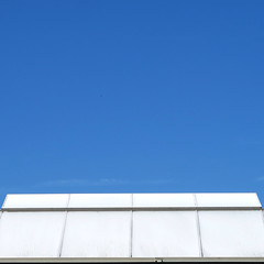 Summer Lines (YIP2) Tags: blue white abstract minimal minimalism simple less line linea detail diagonal geometry wall pattern square design