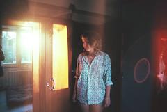 Sunset, one year after (Vincent Beck Mathieu) Tags: vincent beck mathieu analog film 35mm love girl modele sunset grain burn freak light young teen adventure reflexion