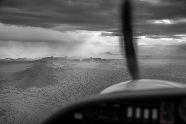 Cruising over Arizona at 6000ft