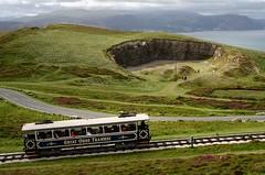 Great Orme Tramway (sfryers) Tags: greatorme tramway historic tram cablecar carriage quarry stone names letters landscape irishsea coast llandudno wales cymru supermulticoated takumar 50mm 114 m42