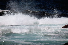 Océano (JAPG 1100D) Tags: cíes isla galicia océano atlántico olas f71 55250mm 250mm 12000 iso 200 boca do lago mar sea ocean waves oleaje espuma mare maro azul blau blue blu blua