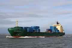Ruth Borchard. (konstantynowicz) Tags: ruthborchard containership rivermersey liverpool liverpoolbay