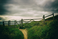 South West Coast Path (Mark Wasteney) Tags: fence path gate hff fencedfriday happyfencefriday westcountry coastline coast kernow cornwall sandymouth