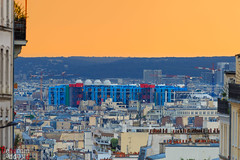 Musée Georges Pompidou (Philippe Dehennin) Tags: musée type ouvrages centregeorgespompidou paris îledefrance france fr museum sun set sunset sunrise art modern artmodern