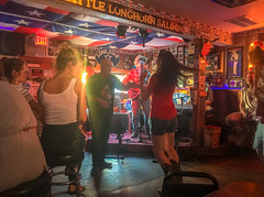 Sunday dancing at the Little Longhorn Saloon July 2017 (4 of 1) (Rick Byrnes) Tags: derailers littlelonghorn littlelonghornsaloon ginnys ginnyslittlelonghornsaloon austin chicken bingo chickenshitbingo sunday iphone iphonese
