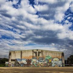 A Xunqueira (Opos+11) (ponzoñosa) Tags: oposición ies school grafitti graffiti sky clouds pontevedra proceso maths mathematics mates 11 xunqueira