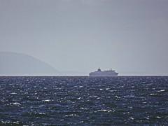 Haze (Bricheno) Tags: bricheno ayrshire scotland escocia schottland écosse scozia escòcia szkocja scoția 蘇格蘭 स्कॉटलैंड σκωτία irvine beach clyde estuary firthofclyde calmac