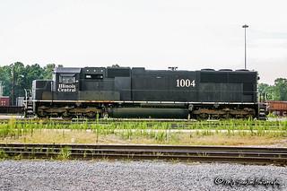 IC 1004 | EMD SD70 | CN Johnston Yard