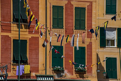 Flags out. (@bill_11) Tags: portofino italy liguria places