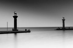 loneliness at the Rhodes.................. (Ozlem Acaroglu(www.ozlemacaroglu.com)) Tags: rodos rodosadasi gradfilter greece yunanistan exposure ef1635mmf28liiusm reflection uzunpozlama urbannd architectural architecture seascape siyahbeyaz doğalyoğunlukfiltresi daytimelongexposure daylightexposure fullframe fx genişaçı landscape lungaesposizione longexposure leefilter lee09ndgradsoft leebigstopper zaman zen özlemacaroğlu canon5dmarkiii canonfx voyage bw77mmnd301000x bulb bigstopper bwnd10stop blackandwhite neutraldensityfilter nd1000x nd110 nature nd nötryoğunlukfiltresi nd11010stopfilter minimalphotography monochrome monowork misty minimal mistiness mandraki