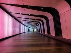 Light Tunnel - Kings Cross (davepickettphotographer) Tags: london uk city cityoflondon urban davepickettphotographer olympuscamera travel photography tourism light tunnel kingscross station stpancras railway underground