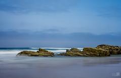Rocas (JoseQ.) Tags: catedrales playa rocas mar led lugo ribadeo