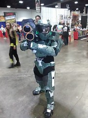Halo Spartan kid (A Botanical Wonderland (Million+ views)) Tags: comiccontampa2017 comiccon tampa 2017 dc marvel superhero action convention cosplay hero halo spartan kid