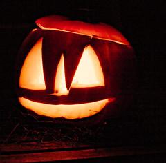 fiene's pumpkin (n.a.) Tags: holland amsterdam nl netherlands halloween jackolantern pumpkin fire carved