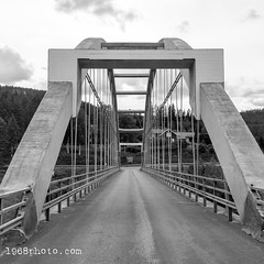Travel.2017-07-05; Roadtrip Dalarna (1968photo) Tags: travel roadtrip dalarna sweden summer sverige bro bridge blackandwhite monochrome monotone architecture 2017 bw sv svartvit arkitektur transport
