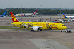 B-7302 Hainan Airlines Boeing 787-9 Dreamliner (Vodka Burner) Tags: b7302 hainanairlines kungfupanda manchesterairport manegcc man egcc boeing7879dreamliner boeing787 dreamliner boeing