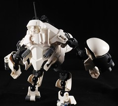Beepo (Monarth the Contrarian) Tags: lego bionicle moc tablescrap robot