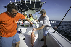 CocodrieCharterFishing (2) WM (Louisiana Tourism Photo Database) Tags: fishing gulf gulfofmexico southernunitedstates angler anglers boating catchingfish charterboat offshore oiandgasrigs outdoorsports outdoors redsnapper southlouisiana water cocodrie louisiana usa