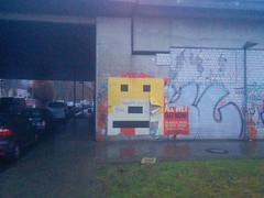 Flat Eric Street Art, Mühlenstraße, Berlin (Manuel Engelbertz) Tags: techno streetart street art mroizo