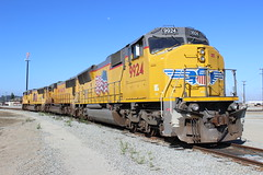 (CaliforniaRailfan101 Photography) Tags: watsonvilleca watsonvillejunction unionpacific hollisterca up local santamargaritalocal hollisterlocal emd gp382 gp402 sd70m sd59mx watsonvilleyard yard