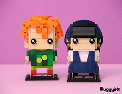 Drop Dead Fred & Snot Face Brickheadz front (buggyirk) Tags: bricksetbrickheadzcompetition brickset lego brickheadz moc afol drop dead fred snot face retro nostalgia phoebe cates rik mayall elizabeth lizzie cronin movie imaginary friend competition