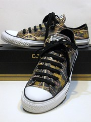 Photo Real (Treebranch Camo) -Charcoal Grey, Black & Multi Ox 145656F (hadley78) Tags: real photo camouflage treebranch camo cons converse chucks collection ct chucktaylors chuck taylor taylors tops top thatconverseguy guinness worldrecord world record ripleys joshuamueller