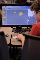 _DSC0790 (Caruth Institute for Engineering Education) Tags: stem programming scratch smu lyleengineering middle school raspberry pi
