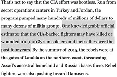 Julian Assange: CIA mouth piece David Ignatius brags in WaPo that CIA is responsible for killing or wounding 100,000 Syrian soldiers http://ift.tt/2uJcP8Q. /r/WikiLeaks https://twitter.com/JulianAssange/status/888408842186485760 https://twitter.com/Julian (#B4DBUG5) Tags: b4dbug5 shapeshifting 2017says