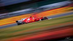 Sebastian Vettel - Ferrari (Fireproof Creative) Tags: ferrari f1 formulaone formula1 britishgrandprix silverstone 2017 vettel sebastianvettel speed blur motion race racing automotive car