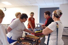 Crafting with Herbs: The Art of Dying, CC 7.17.17 (slcl events) Tags: dyingwithherbs theartofdying dying shibori slcl stlouiscountylibrary cliffcavebranch cliffcave library thestlouisherbsociety handdyed dyedfabric dyingfabric diydye slclorg adults adultprogram craftingwithherbs