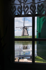 From windmill to windmill (Guy Goetzinger) Tags: architektur windmühle kinderdijk zuidholland niederlande nl windmill window goetzinger nikon d800 holland historic tourism best indoor old alt historisch vieux ancien