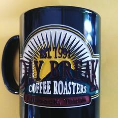 Day Break Coffee Roasters (booboo_babies) Tags: coffee 1990s 1991 mug cup lubbock lubbocktexas coffeecup coffeemug daybreak