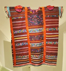 Mexican Huipil Usila Oaxaca Chinantec (Teyacapan) Tags: usila oaxaca mexico huipils ropa clothing textiles indumentaria chinanteco museo