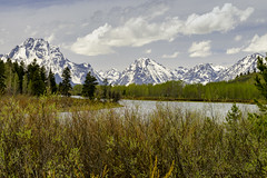 Oxbow Bend II (rschnaible) Tags: grand tetons national park oxbow bend snake river mountains outdoors sightseeing snow majestic wyoming us usa western west landscape
