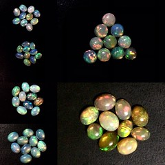 Natural Ethiopian Welo Opal Gemstone Oval Shape calibrated size Cabochons lot of semi Precious gems wirewrapping #wirewrappedjewelry #quality #smooth #handmadejewelry #cabochons #opal #fire #natural (Gee Bee Enterprises) Tags: wirewrappedjewelry quality smooth handmadejewelry cabochons opal fire natural