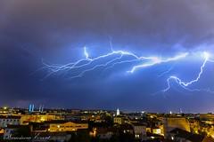Orage sur Bordeaux 18-07-2017 (Ezzo33) Tags: france bordeaux gironde ezzo33 sony rx10m3 unesco ville orage eclair pluie