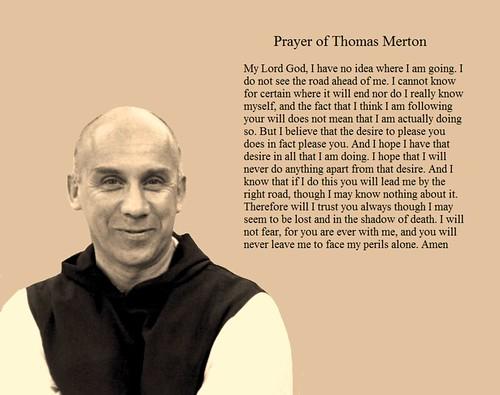 Prayer of Thomas Merton