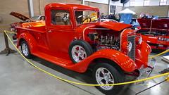 1936 International (bballchico) Tags: 1936 ih internationalharvester pickuptruck carshow northwestrodarama jefffawcett carmelitafawcett