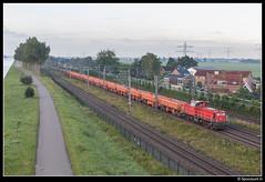 DBC 6429 - 59617 (Spoorpunt.nl) Tags: 23 juli 2017 db cargo dbc 6429 rts zelflossers eamos loenersloot trein 59617 werktrein