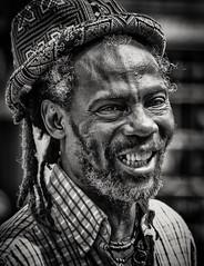 Trader (Andy J Newman) Tags: man candid street bath grifter grifting smile eyes teeth nikon d500 silverefex blackandwhite