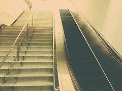 (sftrajan) Tags: escalator munimetro montgomerystation stairway staircase sanfrancisco edited subway california transit transport photodirectorsoftware 2017 samsungj3 android