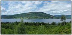 Hurdalssjøen panorama (Krogen) Tags: norge norway norwegen akershus romerike hurdal hurdalssjøen landscape landskap krogen fujifilmx100 imagecompositeeditor