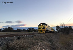 SSR Sunset Streamliners (jaymcghee10) Tags: ssr gm27 gm22 t381 t363 melbourne chiltern albury wodonga southernshorthaulrailroad